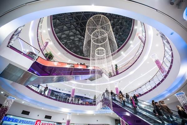 Świąteczna iluminacja w PCC 2