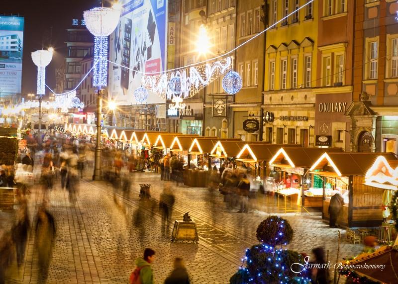 Jarmarki świąteczne w Polsce – największy we Wrocławiu