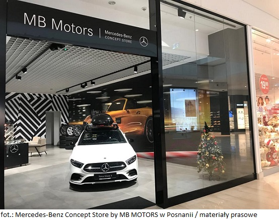 Mercedes-Benz Concept Store by MB MOTORS w Posnanii