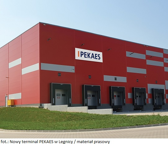 Nowy terminal PEKAES w Legnicy