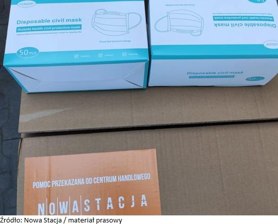 CH Nowa Stacja w Pruszkowie pomaga szpitalom w regionie
