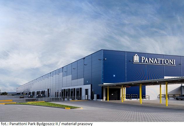 Deweloper Panattoni zakończył budowę drugiego parku w Bydgoszczy