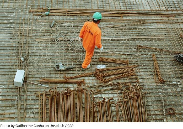 Koniunktura w przetwórstwie przemysłowym, budownictwie, handlu i usługach wg GUS
