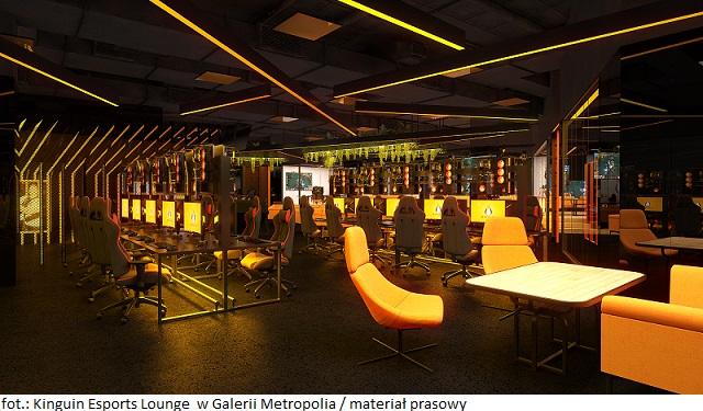 Otwarcie jedynej w Polsce profesjonalnej Gamingowej Areny – Kinguin Esports Lounge  w Galerii Metropolia