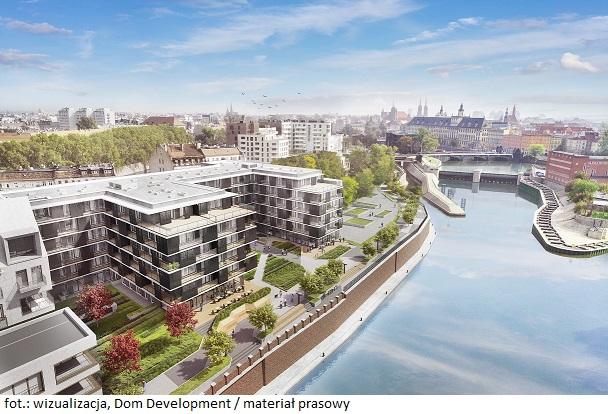 Dom Development rusza z budową nadodrzańskich bulwarów przy ulicy Księcia Witolda