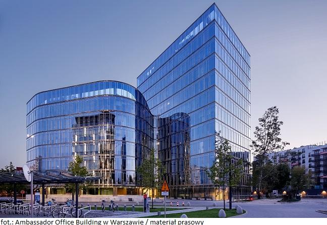 Biurowiec Ambassador Office Building w Warszawie ma nowego najemcę