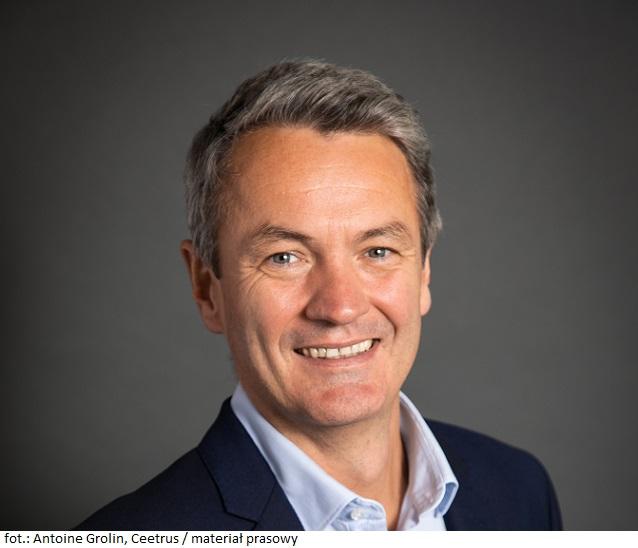 Antoine Grolin został nowym prezesem Ceetrus na świecie