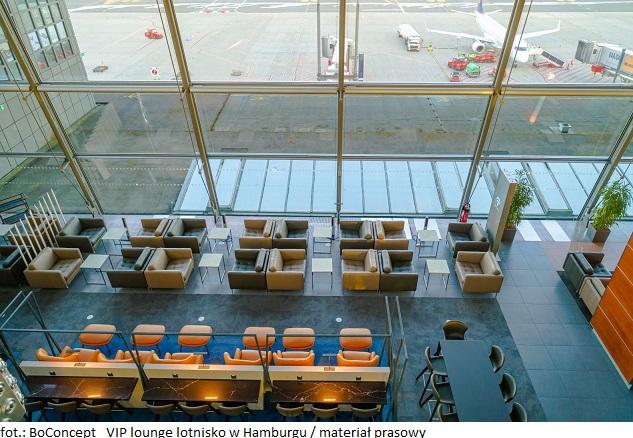 BoConcept_ VIP lounge lotnisko w Hamburgu (1)