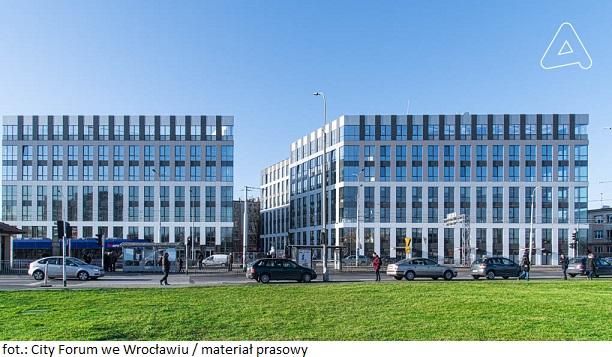 Biurowiec City 2 we Wrocławiu z pozwoleniem na użytkowanie
