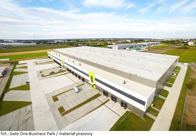 Centrum logistyczno-biurowe Gate One Business Park w Warszawie z nowym najemcą