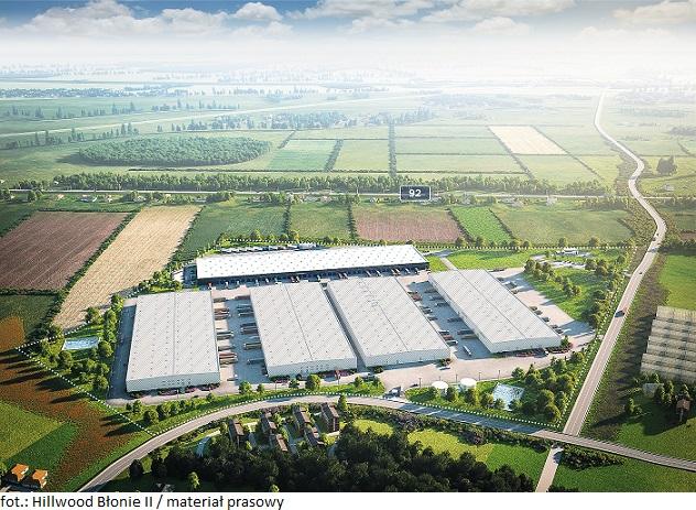 Firma XBS Logistics renegocjowała umowę najmu w Hillwood Błonie II