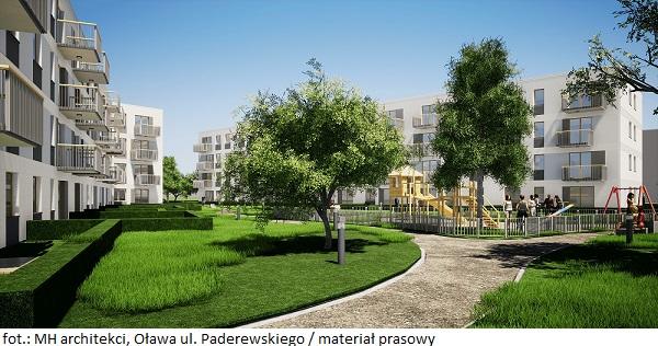 Mieszkanie Plus w Oławie – PFR Nieruchomości poszukuje wykonawcy osiedla