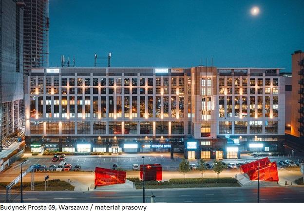 Uniwersytet Warszawski zwiększył powierzchnię najmu w budynku Prostej 69