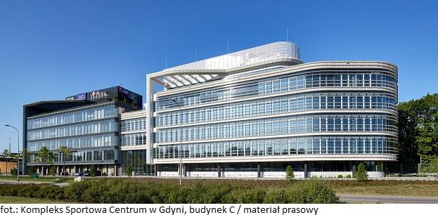 Kompleks Sportowa Centrum w Gdyni zakończyła proces komercjalizacji budynku C