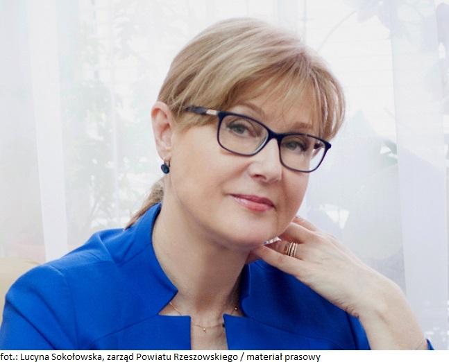 Lucyna Sokołowska, zarząd Powiatu Rzeszowskiego