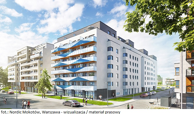 YIT ukończyło budowę ostatniego etapu osiedla Nordic Mokotów w Warszawie