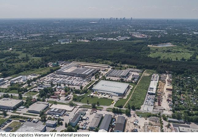 Panattoni buduje City Logistics Warsaw V w Warszawie