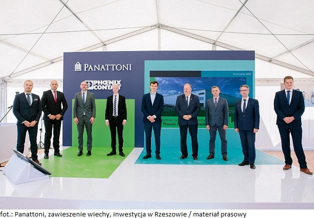 Wiecha na obiekcie budowanym przez Panattoni dla Phoenix Contact E-Mobility – 15 000 m kw. nowoczesnego BTS-a w Rzeszowie