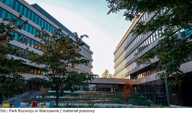 Warszawa: Audioteka przedłuża o kolejne 5 lat najem biura w Parku Rozwoju