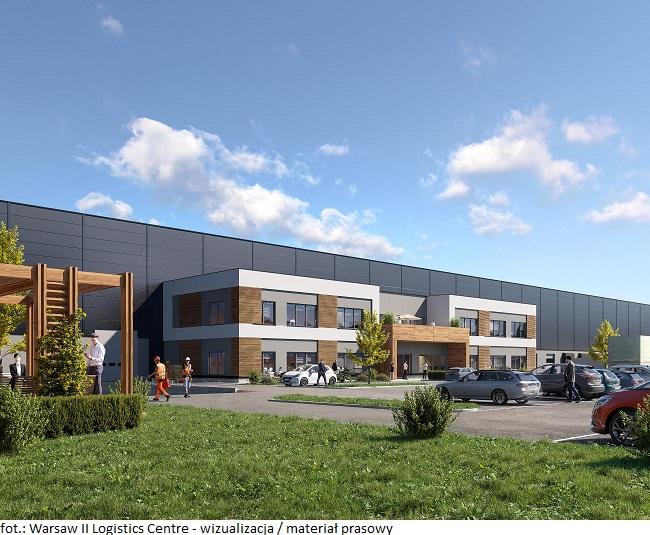 Pierwsze centrum logistyczne realizowane przez GLP w Polsce będzie gotowe jesienią