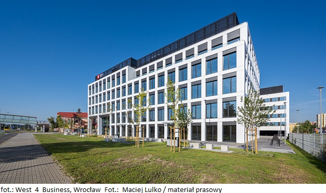 Pierwszy etap inwestycji West 4 Business HUB we Wrocławiu pod opieką Knight Frank