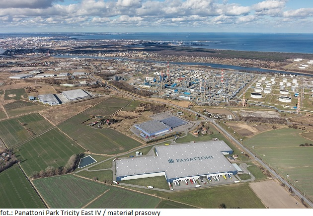 Firma Panattoni wzmacnia e-commerce w Trójmieście – 52 000 m kw. dla Globalway w Gdańsku