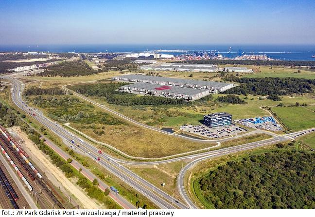 Wygrany przetarg na grunt: deweloper 7R planuje inwestycję przy porcie oraz terminalu DCT Gdańsk
