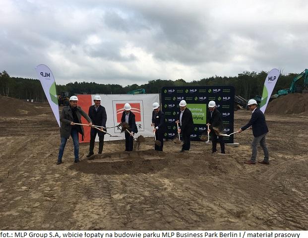 Rozpoczęła się budowa parku MLP Business Park Berlin I