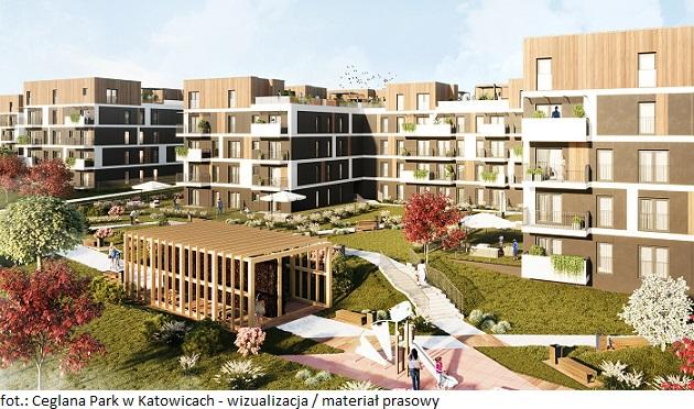 Ponad 700 mieszkań powstanie w nowych etapach osiedla Ceglana Park w Katowicach