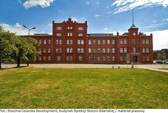 Stocznia Cesarska Development otworzyła budynek Dyrekcji Stoczni Gdańskiej, dostarczając na lokalny rynek powierzchnie coworkingowe