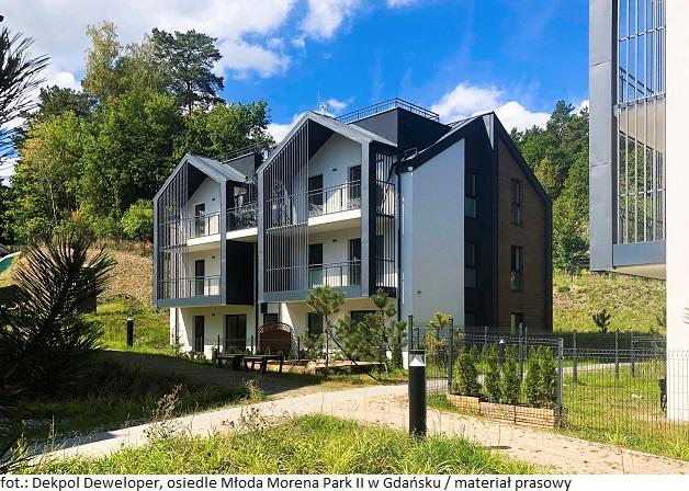 Dekpol Deweloper sprzedał wszystkie mieszkania na gdańskim osiedlu Młoda Morena Park II