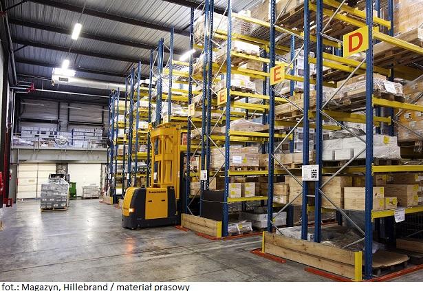 Hillebrand inwestuje w rozwój globalnej sieci logistycznej i uruchamia nowe magazyny
