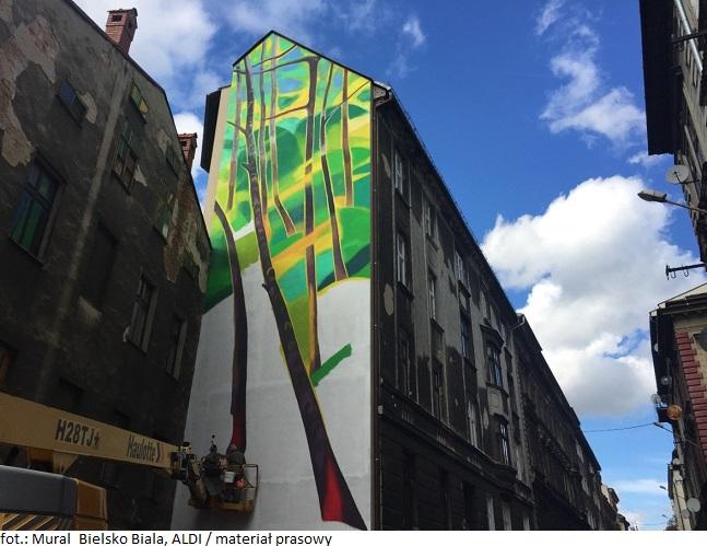 W Bielsku-Białej powstaje antysmogowy mural