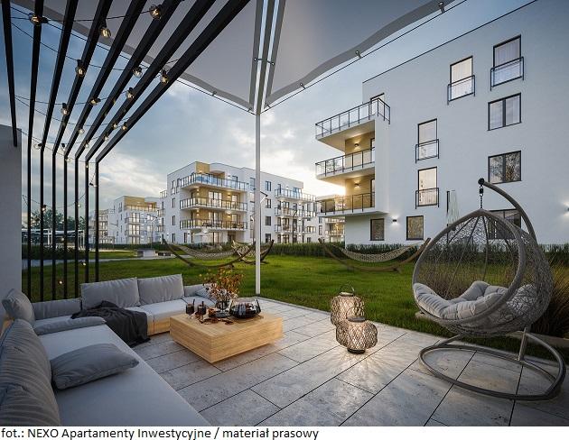 Apartamenty inwestycyjne NEXO – sposób na zysk przez cały rok