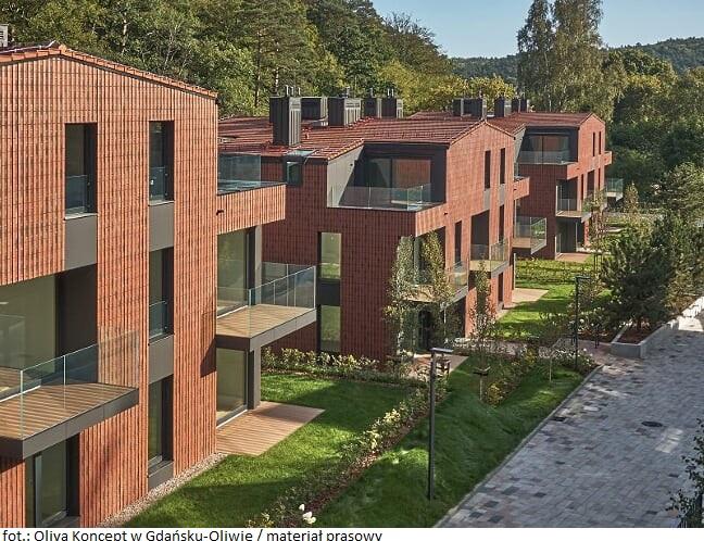 Nowa inwestycja mieszkaniowa w gdańskiej Oliwie oddana do użytku