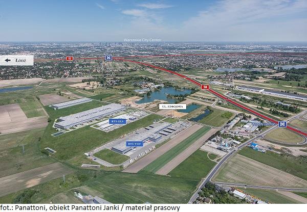 Panattoni zakupiło grunt inwestycyjny pod Warszawą