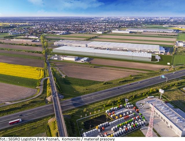 SEGRO Logistics Park Poznań, Komorniki rośnie razem z klientami