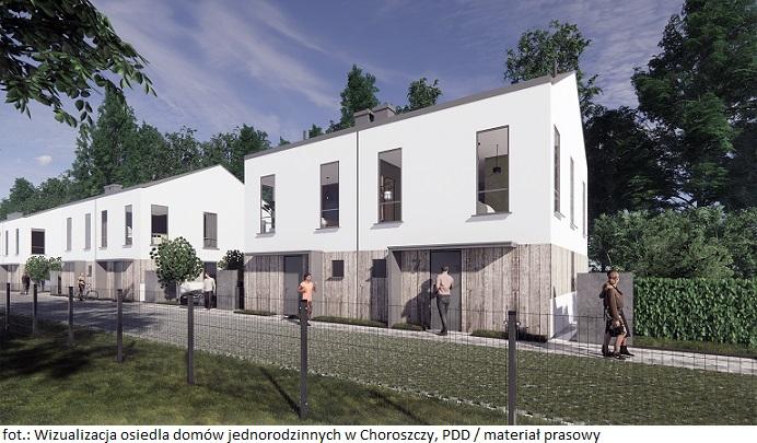 Spółka PDD wybrała generalnego wykonawcę dla inwestycji mieszkaniowej w Choroszczy