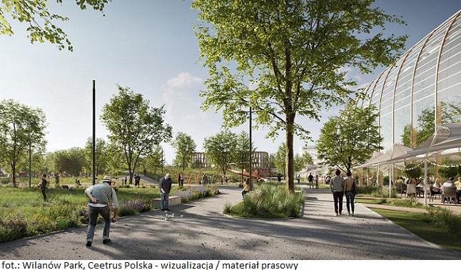 Wilanów Park w Warszawie – rozpoczyna się konkurs na opracowanie koncepcji parku