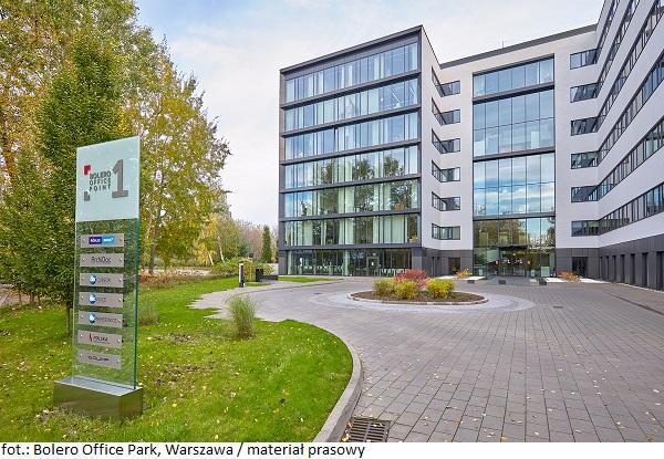 Kompleks Bolero Office Park w Warszawie zmienia się dla najemców