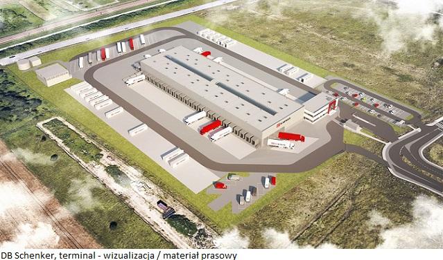 DB Schenker buduje nowoczesny terminal w południowo-wschodniej Polsce