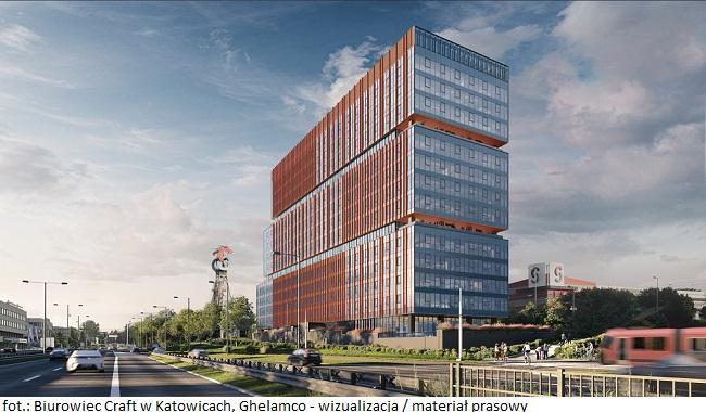 Ghelamco z nową inwestycją – rozpoczyna się budowę biurowca Craft w Katowicach