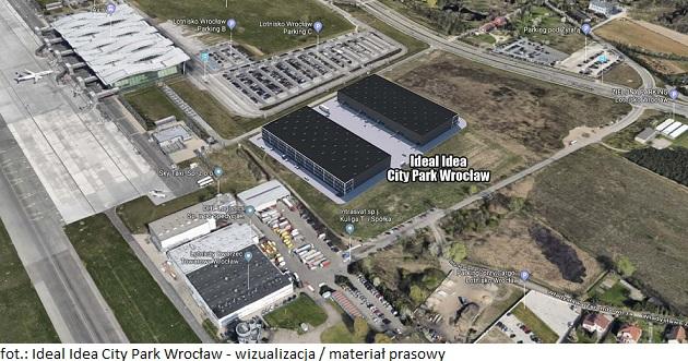 Ideal Idea City Park Wrocław ● wizualizacja lokalizacji