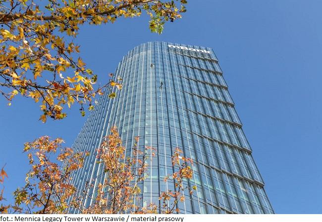 Wieżowiec Mennica Legacy Tower w Warszawie oddany do użytkowania