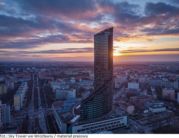 Do Sky Tower we Wrocławiu wprowadził się już nowy najemca