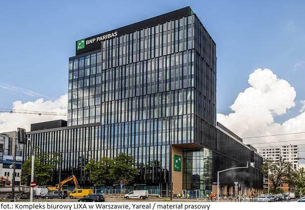 Kompleks biurowy LIXA w Warszawie wita pierwszego najemcę