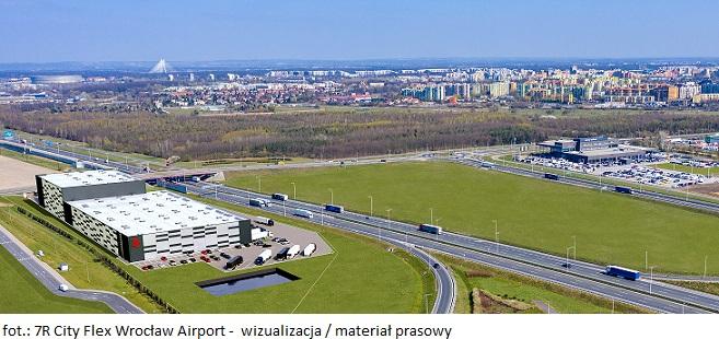 Magazyn wysokiego składowania 7R City Flex wyrośnie we Wrocławiu I