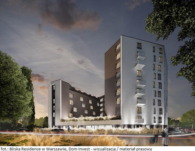 Bliska Residence w Warszawie, Dom Invest