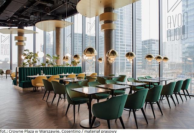 Nowy hotel Crowne Plaza w Warszawie zaprasza do stylowego wnętrza