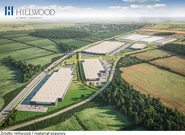 Rynek centrów logistycznych: wystartowała budowa dwóch budynków Hillwood we Wrocławiu